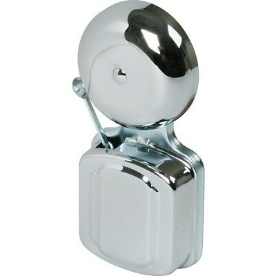 """2-1/2"""" All Purpose Electric Door Bell, Chrome Finish, by Lee Electric Inc. #302"""