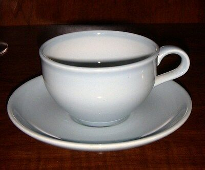 IROQUOIS  CASUAL CHINA RUSSEL WRIGHT BLUE CUP & SAUCER