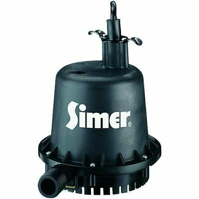 """Simer 2110 - Geyser Jr  6.5 GPM (3/4"""") Thermoplastic Submersible Utility Pump"""