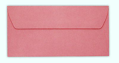 25-500 Dl -Vanguard Envelopes - Salmon Pink- Gummed- Straight Flap