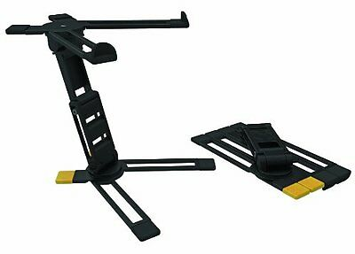 Hercules DG400BB DJ / Musician Laptop Stand / Holder with Free Carry Bag - NEW!