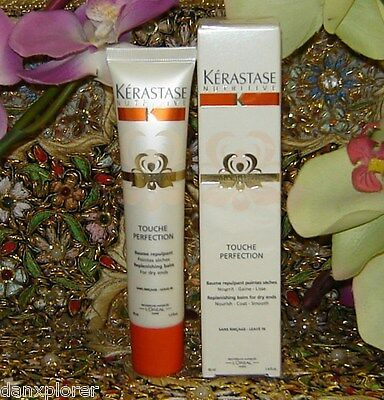 KERASTASE NUTRITIVE TOUCHE PERFECTION 40ml !! NEW IRIS ROYAL!! SEALED AND NEW!