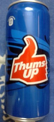 Thumps Up India Empty Can 250 ml Opened From Top Free Worldwide Shipping