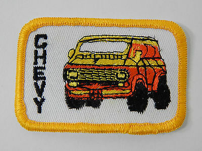 1 Vintage Chevy Van Patch 3x2 Sew Or Iron On