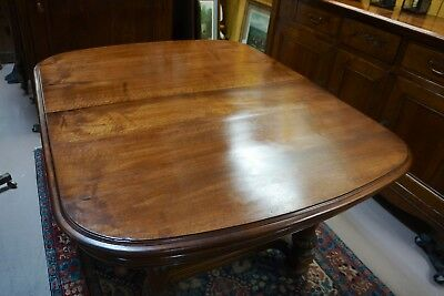 Antique English Extending Dining Table/Desk