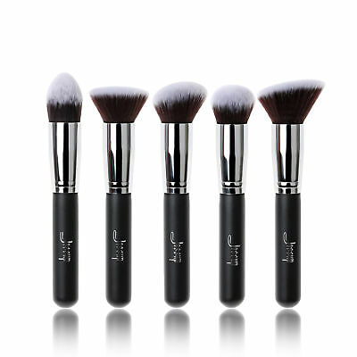 Jessup Pro Face brushes set Liquid Foundation powder bronzer blush Makeup brush