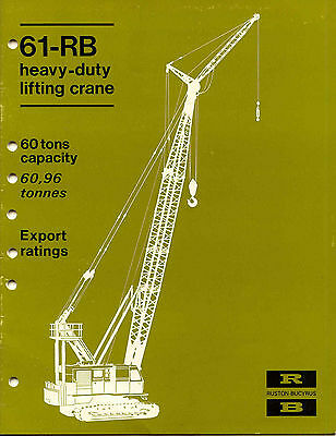61-RB heavy-duty lifting crane 60 tons export rating green cover