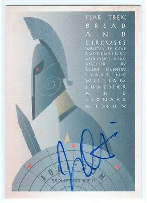 "Juan Ortiz ""Bread And Circuses Autograph #Joa44"" Star Trek Portfolio Prints"