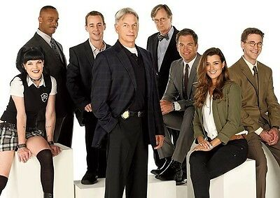 NCIS Awesome Cast White POSTER