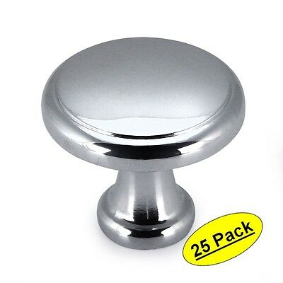 #3317CH *25 Pack* Cosmas Cabinet Hardware Polished Chrome Knobs
