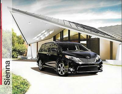 2013 13 Toyota Sienna  oiginal sales brochure MINT