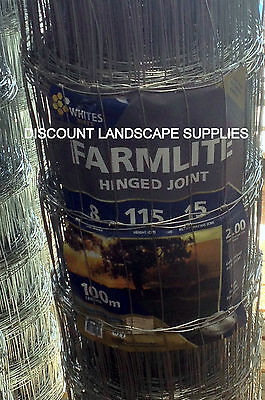 Hinge Joint Rural Dog Fence / Dog Mesh Fencing wire  8/115/15 x 100m x 2.00mm