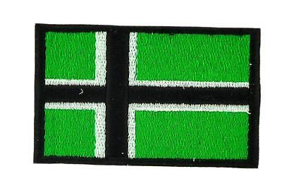 Patch écusson brodé Drapeau VINLAND VIKING  Thermocollant Backpack sac à dos