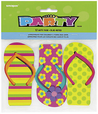 Flip Flop Notebooks - Ideal Party Bag Fillers - Pack Of 12