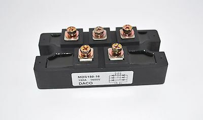 New Size Bridge Rectifier 3ph 150A 1600V MDS150A diode 3 phase 150 amp 1600 volt