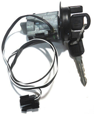 Buick Oldsmobile Pontiac OEM Ignition Key Switch Lock Cylinder W/ 2 Logo Keys