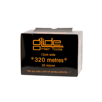 Glide Professional Silver Hairdressing Foil 20Mic 12cm x 320 Metre