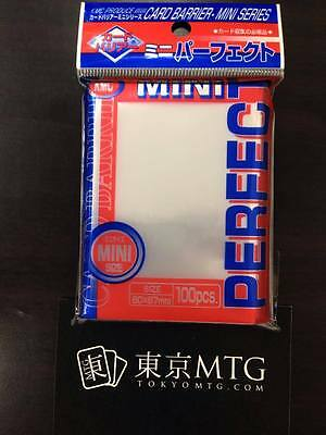 x1 pack MINI Perfect Fit / Size Sleeves KMC Card-Barrier 100 ct small Yugioh