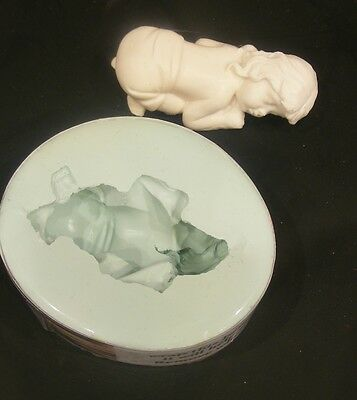 Silicone Girl Baby Mold/ Mould, fimo sculpey polymer Clay