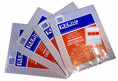 New Kenro Film Storage Pages Clear Negative Sleeves 35mm 100