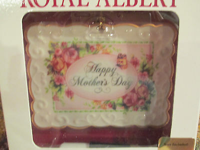 "Mother's Day Porcelain ""keepsake "" Card  Royal Albert"