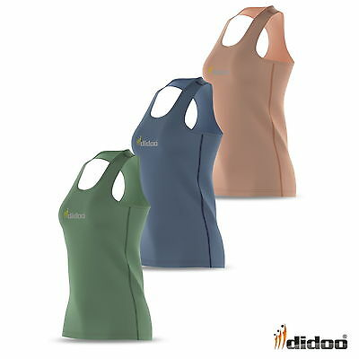 Women Running Vest Athletic Fitness Sleeveless Ladies Top Base Layer Gym Singlet