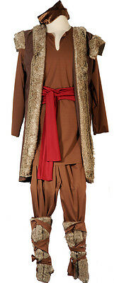 KRISTOFF-Viking-Ice queen- Frozen Male/Boys Fancy Dress Costume All Ages/Sizes