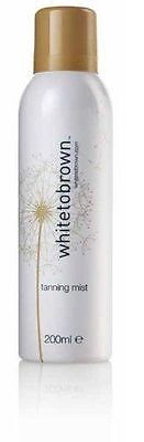 White To Brown Whitetobrown Fake Tan No Bake Self Tanning Mist 200ml