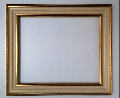 Gold and Cream Textured Frame Different Sizes Available