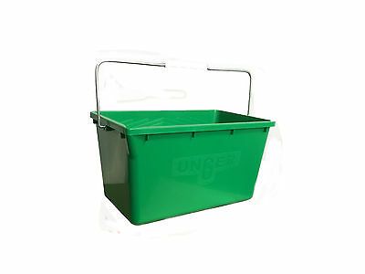 Unger Window Cleaners Rectangular Bucket w/hangers 18 Ltr