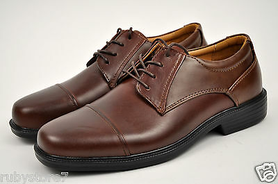 Brown EEE Slip on  A718W Extra wide 3E La Milano Mens Shoes Genuine Leather