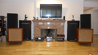 Pair of Vintage 1960'S Bozak B-302A speakers in excellent condition Made in USA