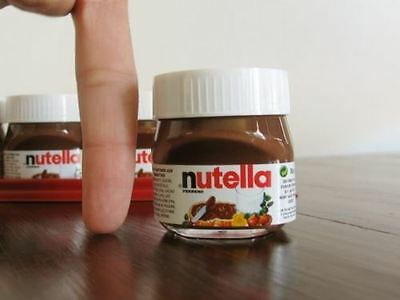 NEW MINI NUTELLA 25g x 10 - LIMITED TIME ONLY