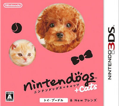 Nintendogs + Cats: Toy Poodle & New Friends [Japan Import]
