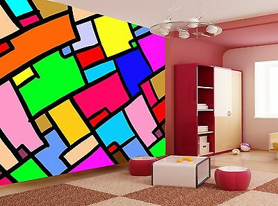 Mosaic Colors  Wall Mural Photo Wallpaper GIANT WALL DECOR Paper Poster