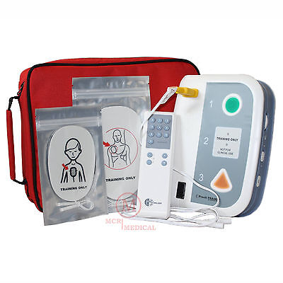 Lot of 4 AED Practi-Trainer for CPR training, WNL Safety practice defibrillators