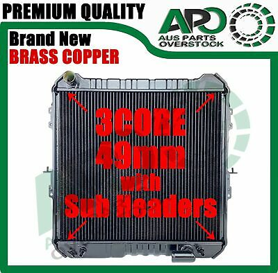 Copper Brass H'Duty RADIATOR FOR Toyota Hilux 88-97 Surf LN130 2.4L Turbo Diesel
