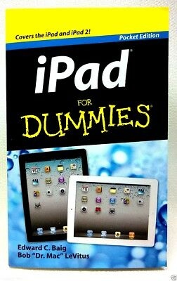 iPAD FOR DUMMIES : (Pocket Edition) : WH1-R5B : PBS007 : NEW BOOK