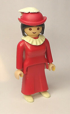 Playmobil Victorian Dollhouse 5300 Antique Car Lady Woman with Hat 5620
