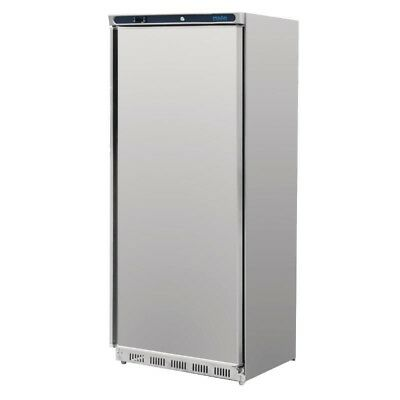 Polar Stainlesss Steel Single Door Commercial Freezer 600 Ltr, CD085