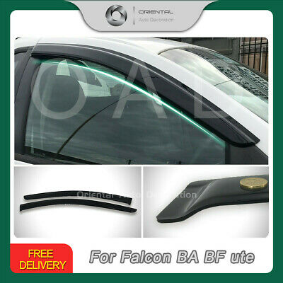Premium Weather Shields Weathershields Window Visor Falcon Firemont BA BF ute
