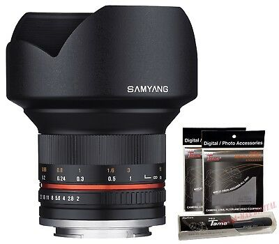 Samyang 12mm F2.0 NCS Nano MC APSC Extra Wide Angle Lens for Sony E mount ILCE