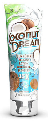 Fiesta Sun Coconut Dream 15x Ultra Dark Tanning Lotion + Clear Bronzers 236ml
