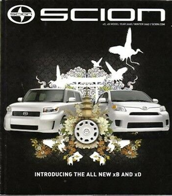 2007 07 issue VOL 9   Scion Magazine  XB, XA  XD & SC Sales brochure