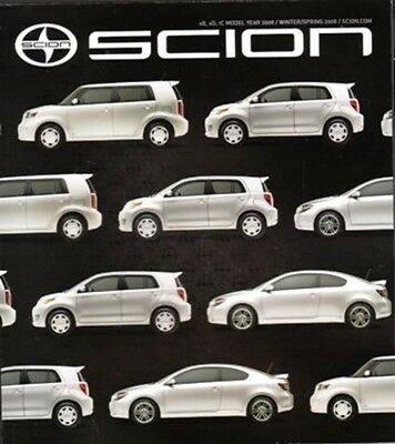 2007 07 issue VOL 12   Scion XB XA &  SC Magazine Sales brochure 114 pages
