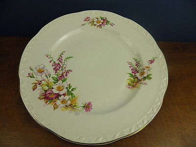 "EMBOSSED ""BRIARDALE"" ROYAL FALCON WARE WEATHERBY 25.5cm DINNER PLATE"