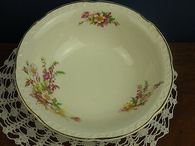 "Embossed ""briardale"" Royal Falcon Ware Weatherby Bowl"