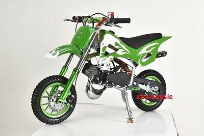 New 49Cc Mini Motor Dirt Bike Kids Pocket Rocket Pee Wee Motorcycle Atv 50Cc