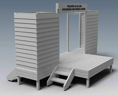 THEATRE STAGE V01 - CUBBY HOUSE PLAY TIME ! - Full Building Plans in 2D & 3D