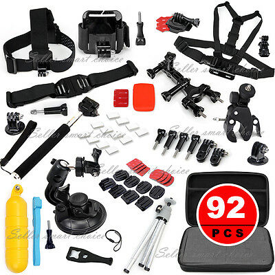 Accessories Pack Case Head Chest Monopod Bike Surf Mount for GoPro Hero 5 4 3+ 3
